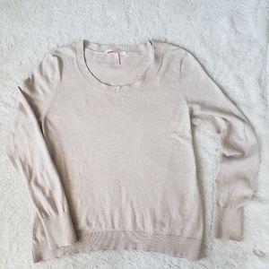 Victoria's Secret Cozy Cream Sweater, M